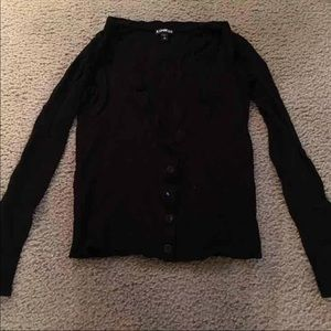 Express Button Front Cardigan